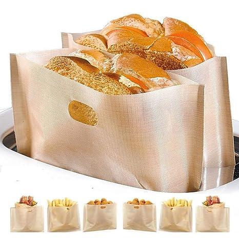 Amazon.com: Bolsas antiadherentes para tostadora ...