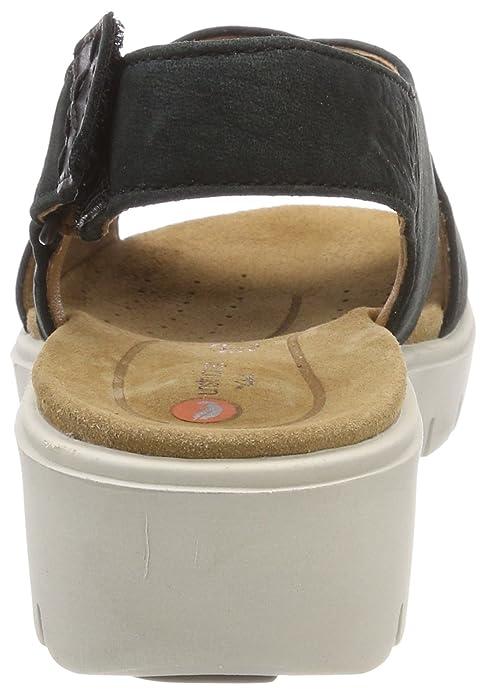 5728aea3516fe0 Clarks Un Karely Hail, Sandales Bride arrière Femme: Amazon.fr: Chaussures  et Sacs