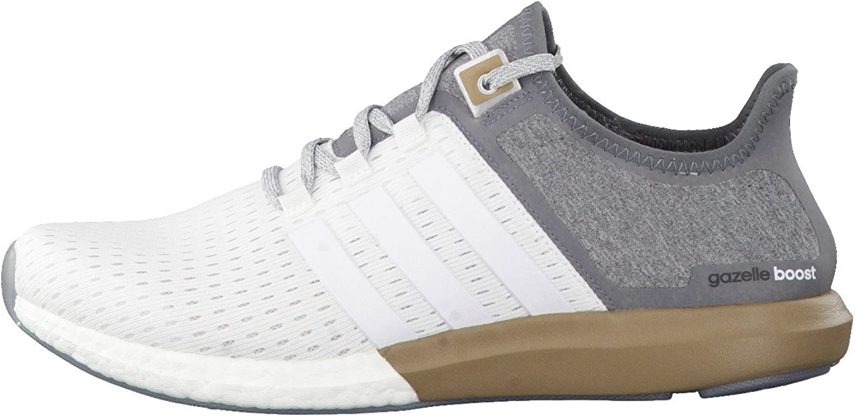 adidas Performance Climachill Gazelle Boost Chaussures de Course Running Homme Blanc Gris
