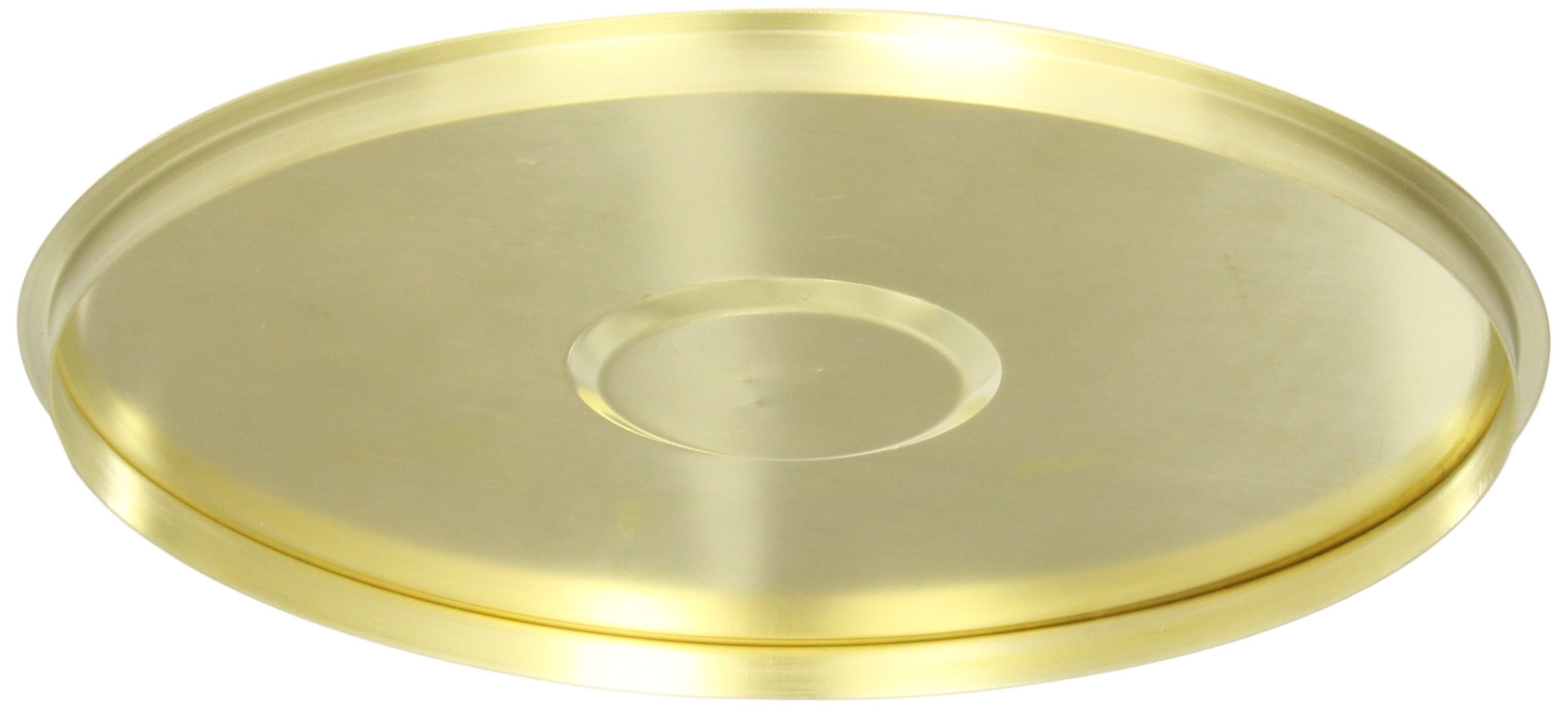 Advantech CB8W/R Brass Sieve Cover with Lifting Ring, 8'' Diameter by Advantech