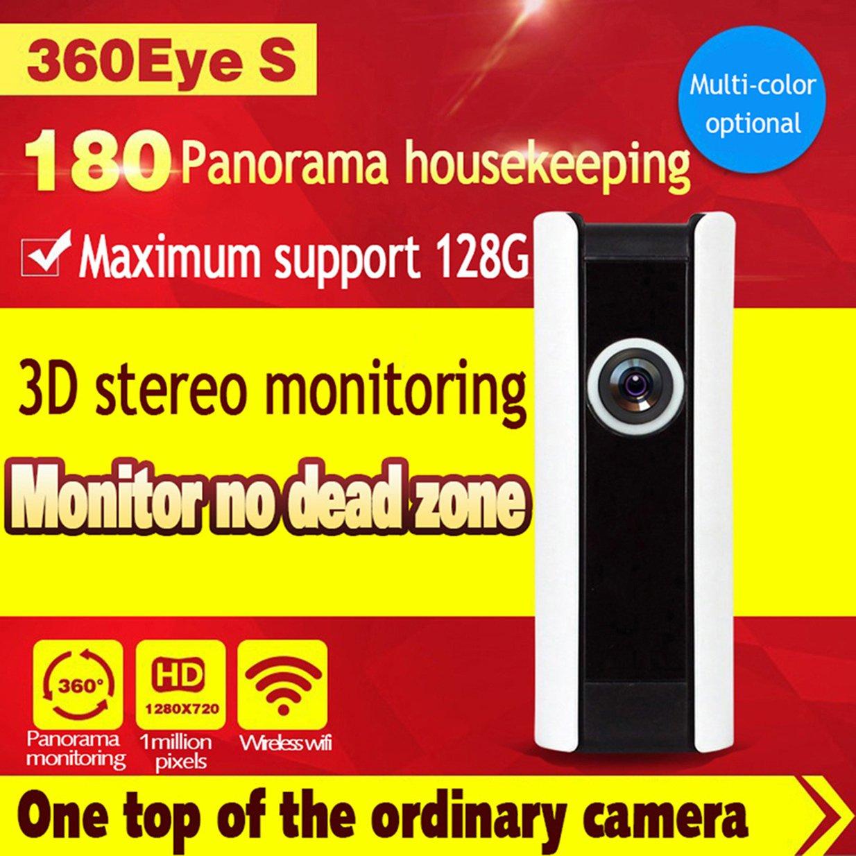 DongAshley IP Cámara De Vigilancia Video De Alarma Sistemas De Seguridad Para El Hogar Cámara Inalámbrica Detección De Movimiento Vision Nocturna Mando A ...