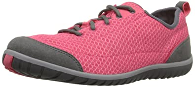 Clarks Women's Ibeeck Lace Walking Shoe, Red Mesh, ...