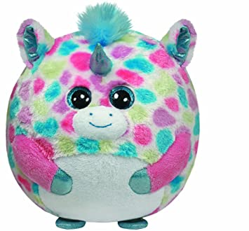 Ty - Peluche bola unicornio, 15 cm, multicolor (United Labels 38066TY)