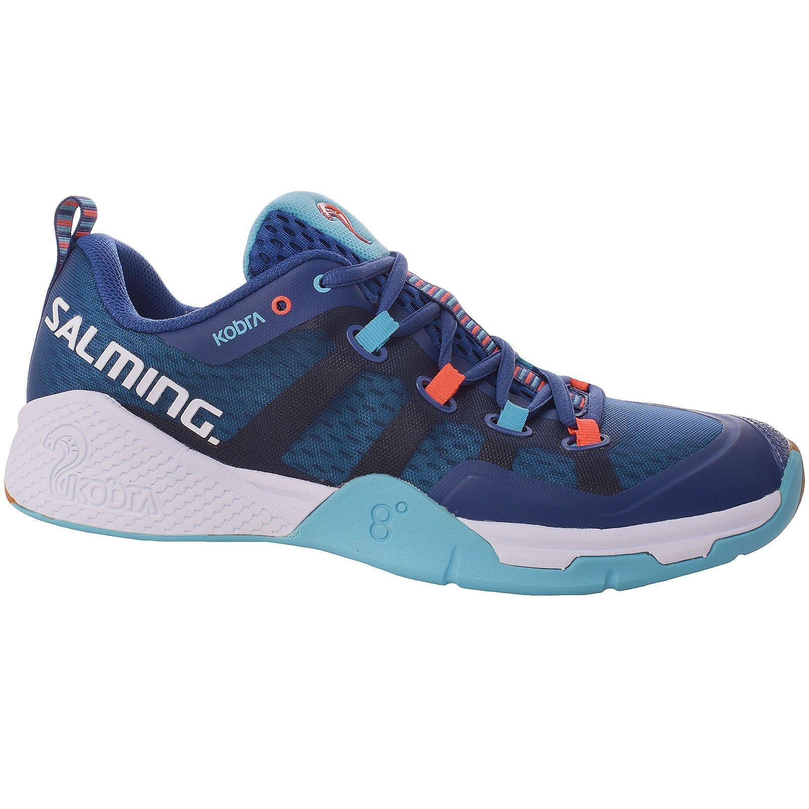 Salming Kobra 2 Mens Indoor Court Shoe (Blue) (9)