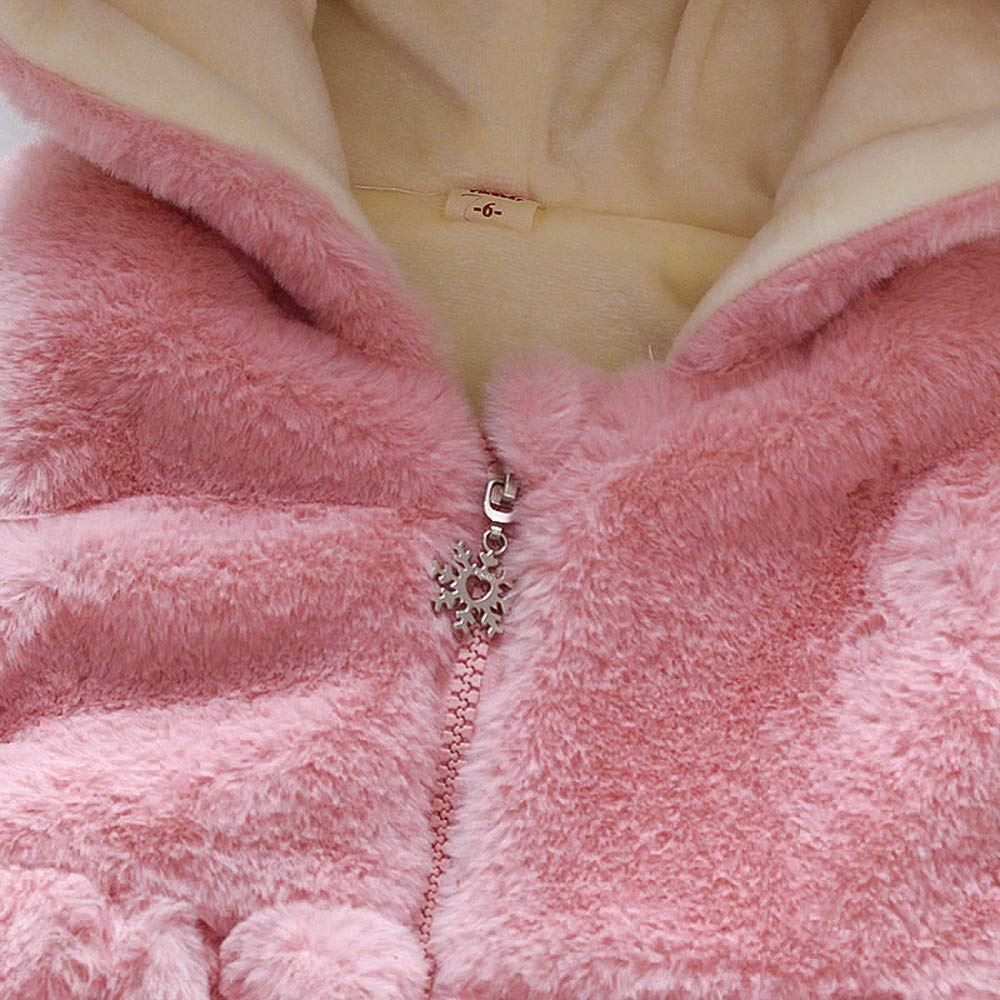 Lifestyler Children Girl Cute Winter Waistcoats Coats Fashion Vest Jacket Casual Princess Outerwear