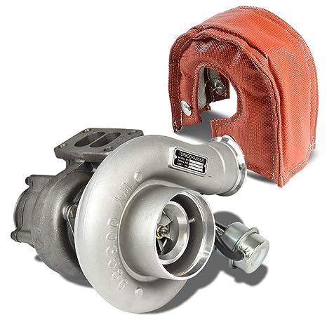 Dodge Ram 6BT 5.9L HX35 hx35 W T3 Turbocompresor + Turbo heat-wrap manta