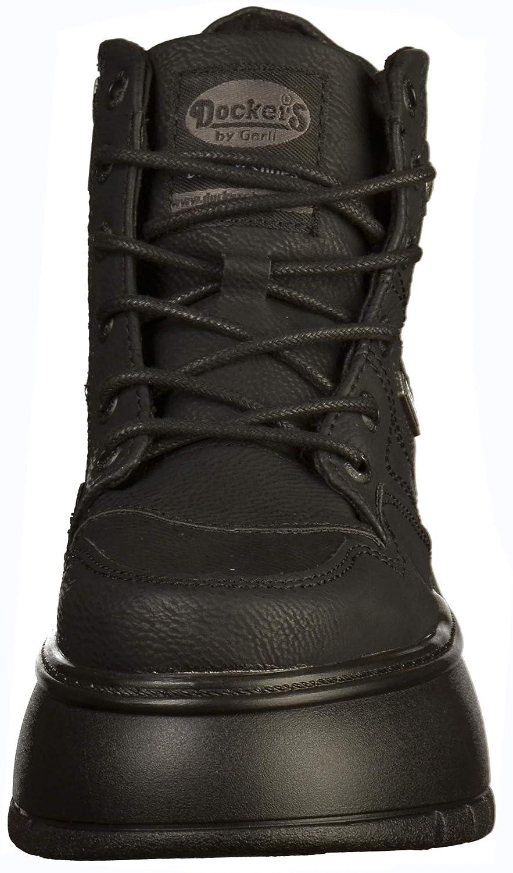 Dockers by Gerli Damen 43dr202 Hohe Sneaker, Schwarz Schwarz Sneaker, (Schwarz 101) 324b9d