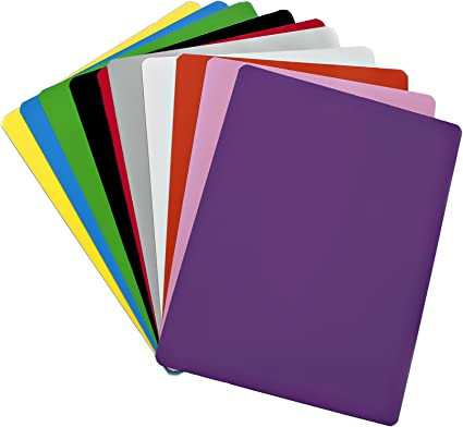 Dry Erase Magnet Sheets 9 X 12 10 Sheets Multiple Colors