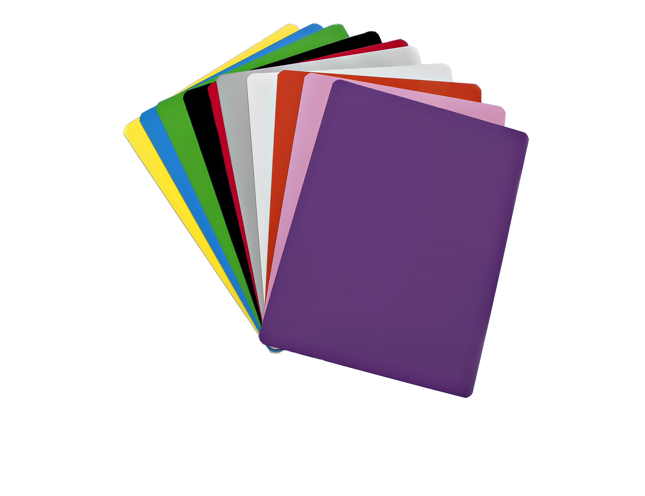 Dry Erase Magnet Sheets - 9'' X 12'' - 10 Sheets - Multiple Colors