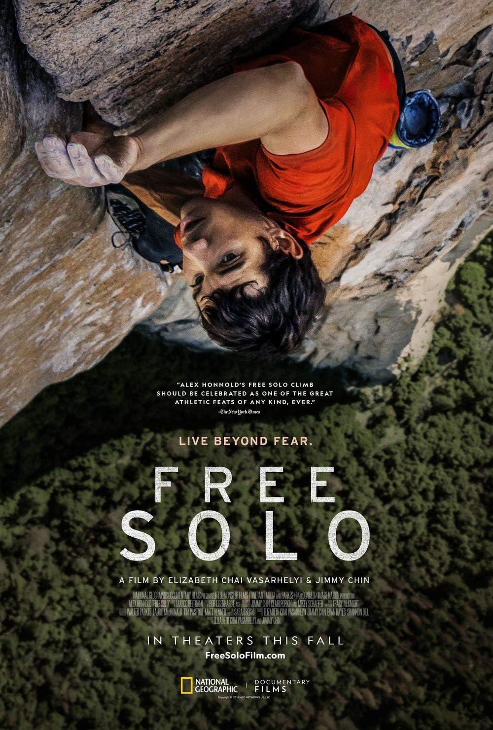 Poster Free Solo Movie 70 X 45 cm: Amazon.es: Hogar