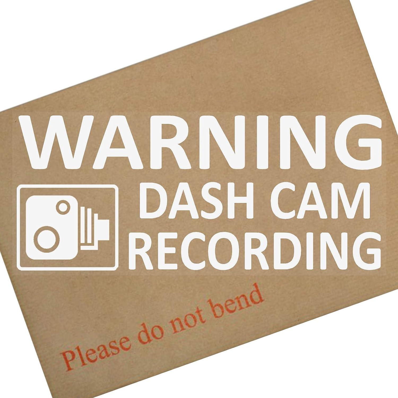 200mm Platinum Place 1 x Warning DASH CAM Recording WINDOW Stickers-Vehicle Security Dash Cam Signs-CCTV,Car,Van,Truck,Taxi,Mini Cab,Bus,Coach,Go Pro