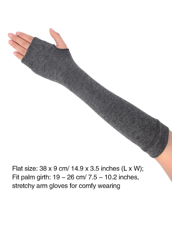 Armstulpen 2019 Neue Mode Frauen Mädchen Damen Weiche Arm Warmer Lange Finger Handschuhe 7 Farben Eine GroßE Auswahl An Waren