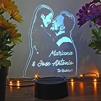 Oh! My Neon Lampara con Tu Foto 3D Personalizada Led 16 Colores Creativa Usb Regalos Ideales para Románticas Boda…