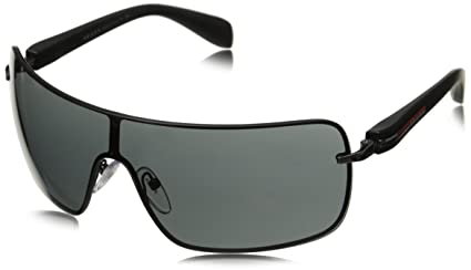 538cab318e1 Image Unavailable. Image not available for. Colour  Prada Sport Visor  Sunglasses in Black ...
