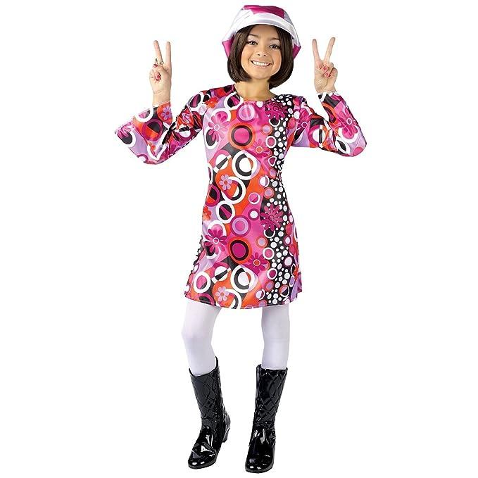 fd602866c77d Amazon.com  Feelin  Groovy Girl s Disco Costume  Toys   Games