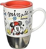 Disney Minnie Mouse Ceramic Top Travel Mug