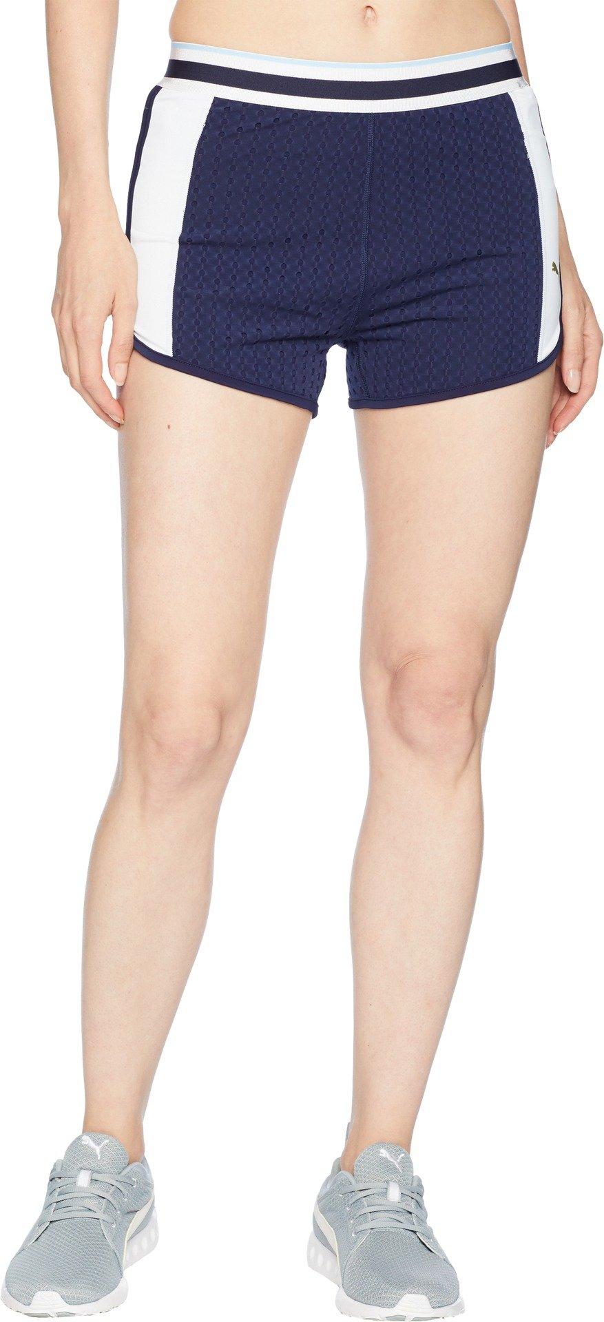 PUMA Women's Varsity Shorts Peacoat Large 2