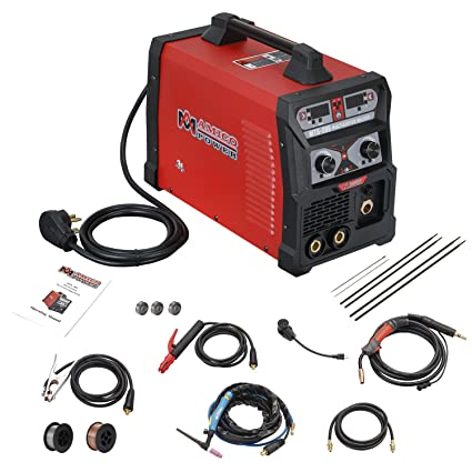 mts 205 205 amp mig tig torch stick arc combo welder, weld aluminum Equipment Trailer Wiring Diagram image unavailable