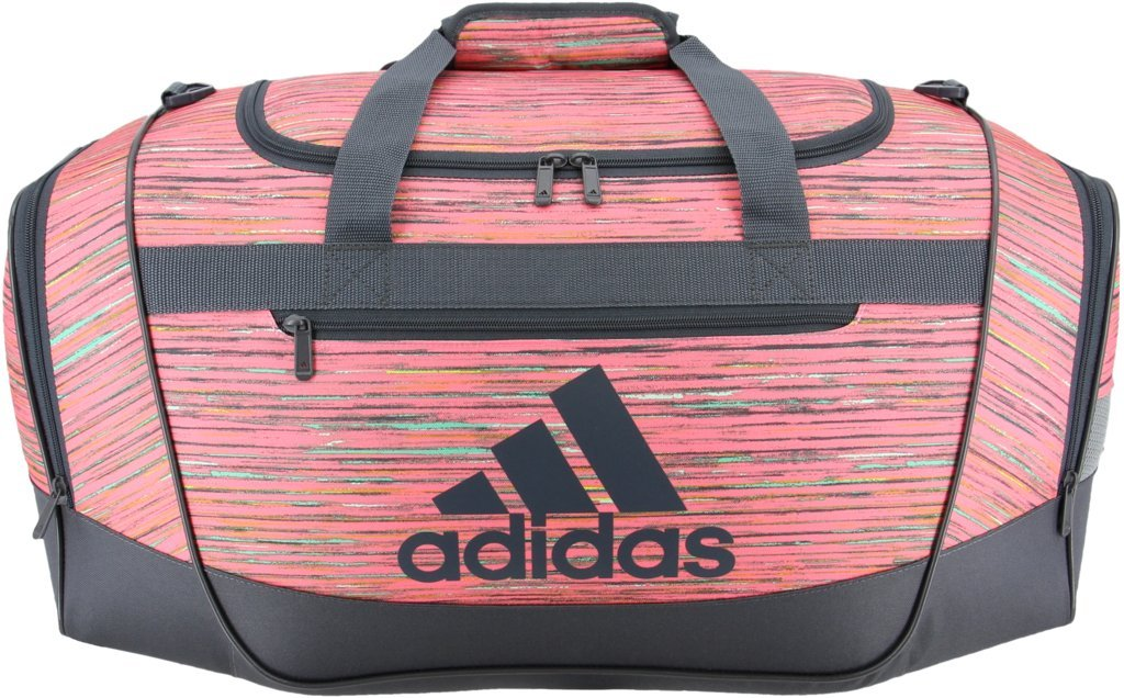 Galleon - Adidas Defender III Duffel Bag, Visionary Chalk Pink Deepest  Space, Small 7bc2b3dcc5