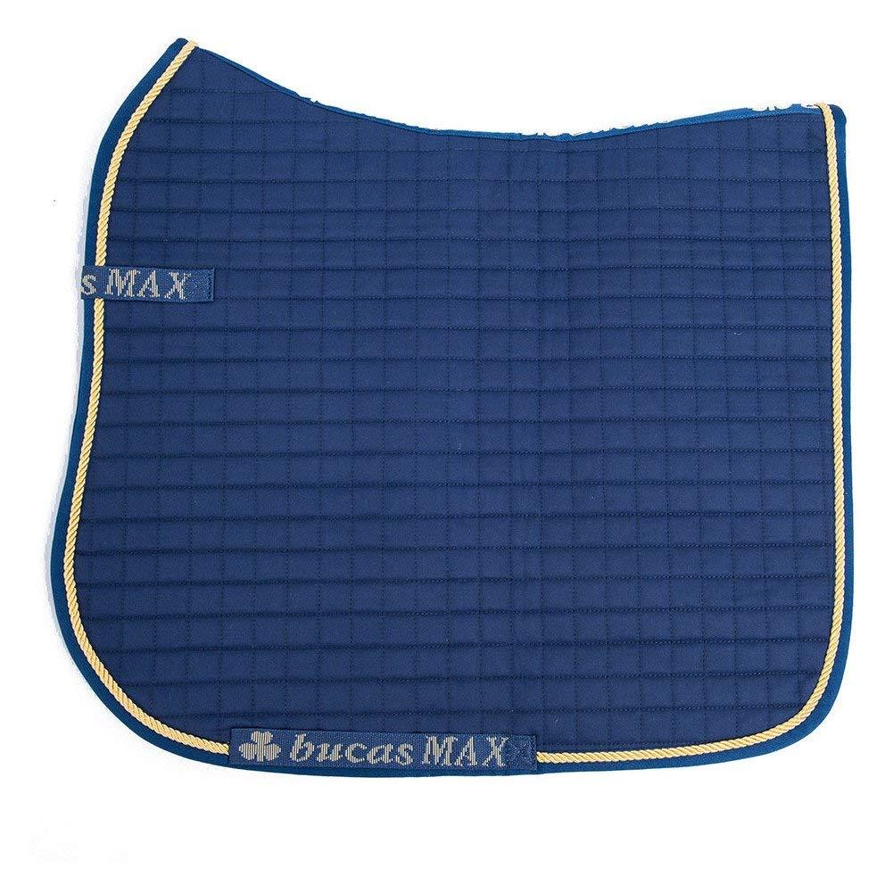 Bucas max per dressage, taglia unica navy oro