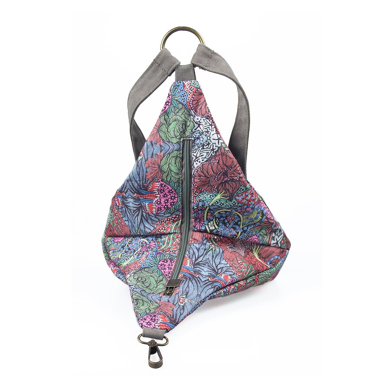 Amazon.com: Black Butterfly - Mochila de lona para mujer ...