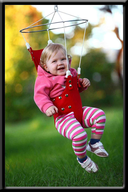 e18c60ae7a6 Merry Muscles Ergonomic Jumper Exerciser Baby Bouncer -Blue