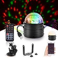 Herefun Luces Discoteca, Discoteca Luces RGB LED Mini