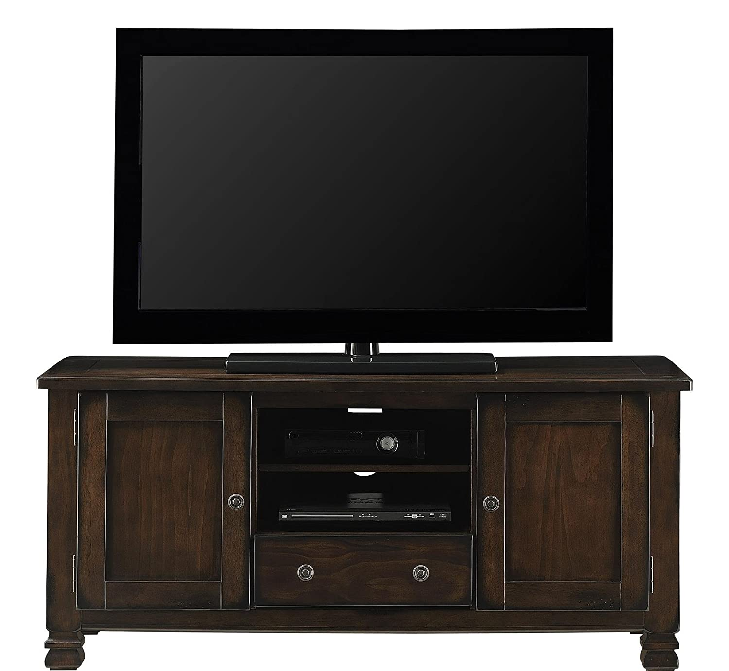Amazon Com Ameriwood Home Summit Mountain Wood Veneer Tv Stand  # Television Moderne