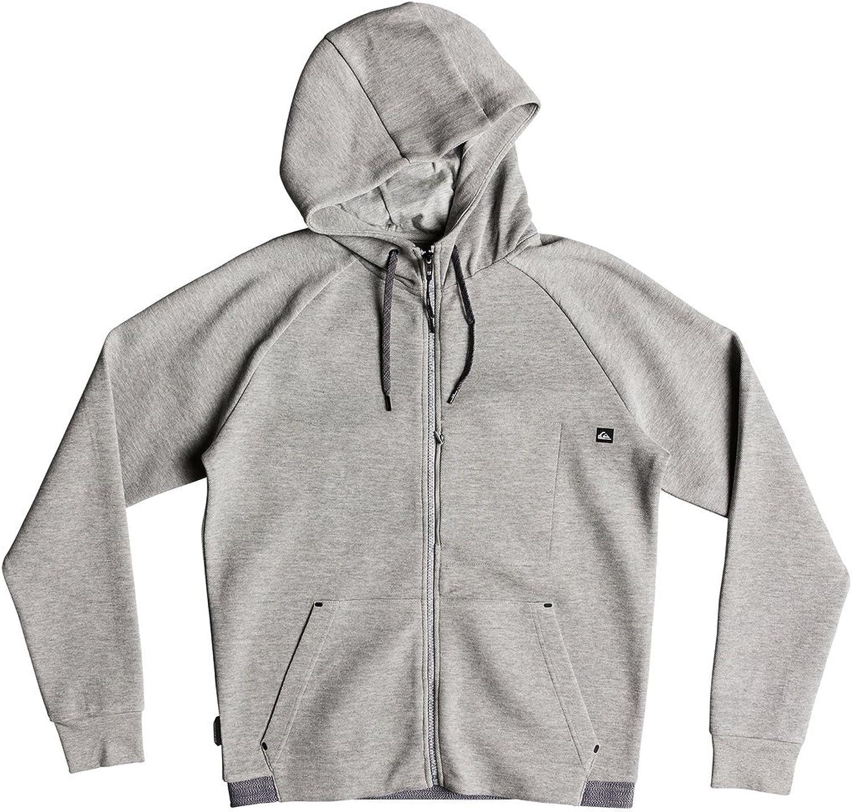 Quiksilver Mens Quikbond Fleece Zip Up Hoodie Jacket