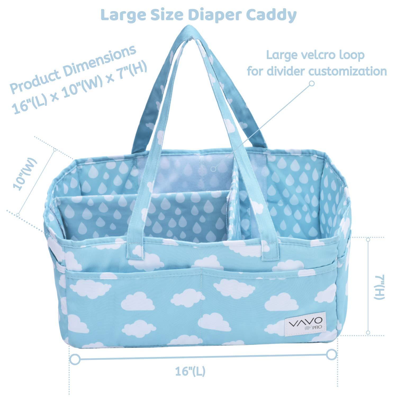 Fabric Storage Basket Baby Shower Gift Nappy Storage Winnie the Pooh Nursery