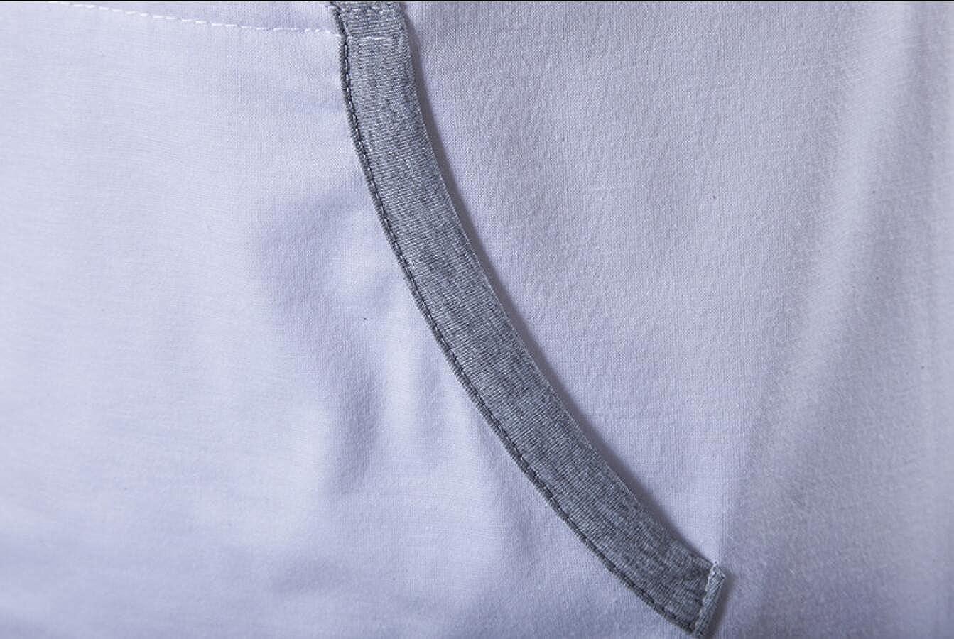 Mens Hoodie Sleeveless Pocket Splice Pullover Shirt Top Vests