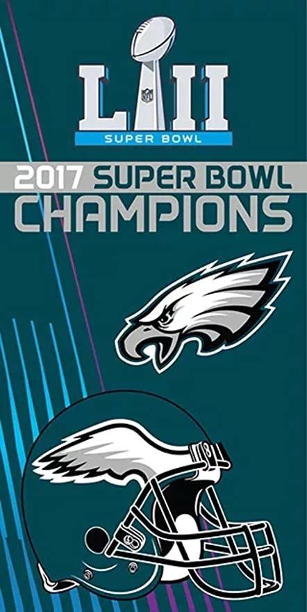 b3f413337689e Image Unavailable. Image not available for. Color  The Northwest Company  Licensed 2017 NFL Super Bowl Champions Philadelphia Eagles ...