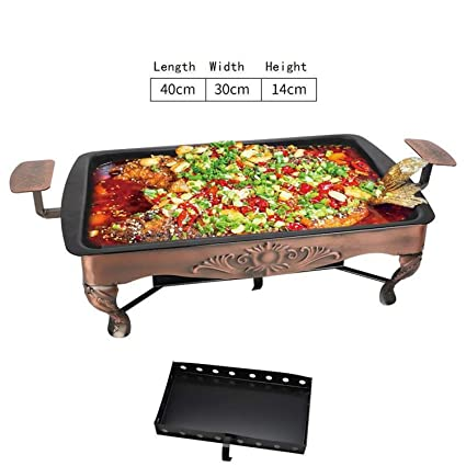 Amazon.com : Rotisserie Portable Parrilla Barbeque barbacoa De ...