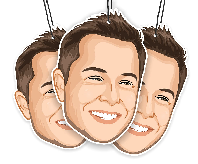 Elon's Musk Air Freshener (3-Pack) The Elon' s Musk Company