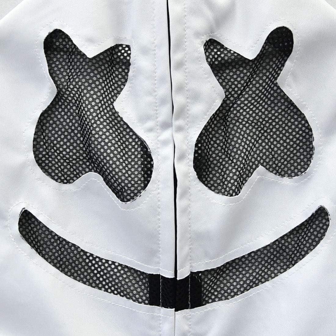 Thombase Conjunto de Ropa para ni/ños de DJ Marshmello con Sudaderas y Sudaderas con Capucha para Halloween style2 Talla /única