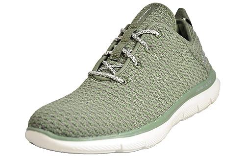 get cheap e4e42 7220b Skechers , Damen Sneaker Grün grün: Amazon.de: Schuhe ...