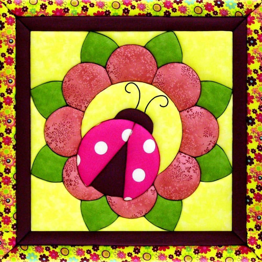 Quilt Magic QM827 Sew Wall Hanging Kit-Ladybug