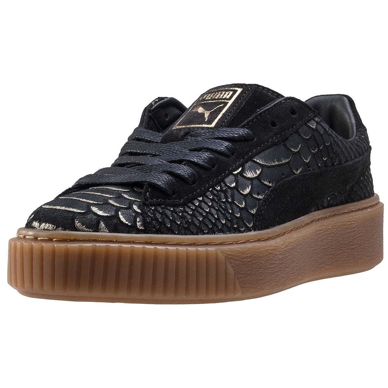 Puma Basket Platform Exotic Skin 36337701, Turnschuhe