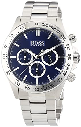 Boss HB-6030 1512963 Mens Chronograph Screwed-in crown