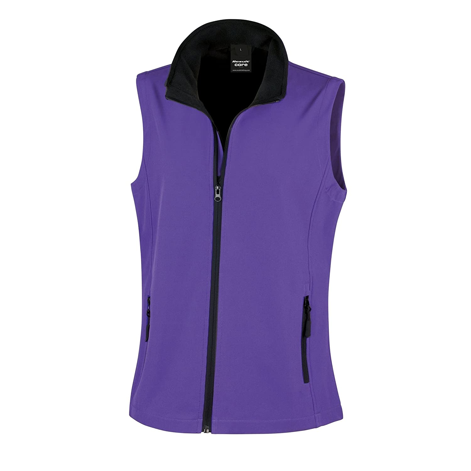 Result Core Womens/Ladies Printable Softshell Bodywarmer