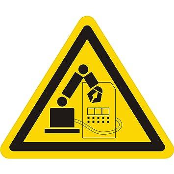 Labelident - Pegatinas de advertencia - Advertencia de ...