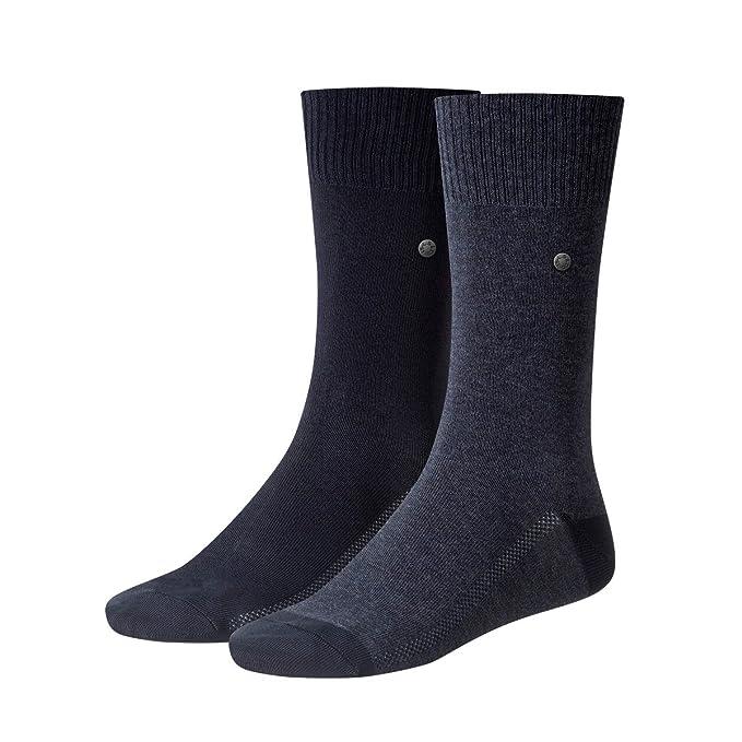 Levis 6 pares de calcetines de los hombres 168 SF Regular Cut 6P Medias 39-