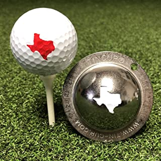 product image for Tin Cup Texas State Golf Ball Custom Marker Alignment Tool