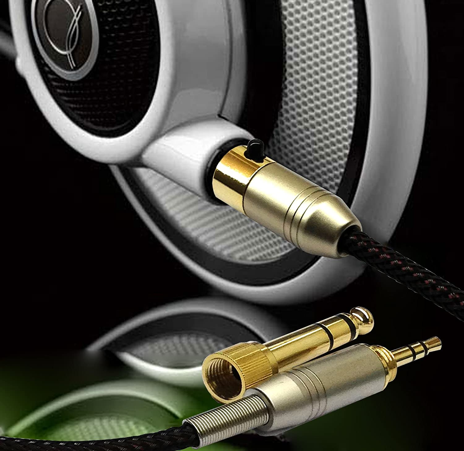 Amazon.com: 1.5m Replacement Audio upgrade Cable For AKG Q701 K702 ...