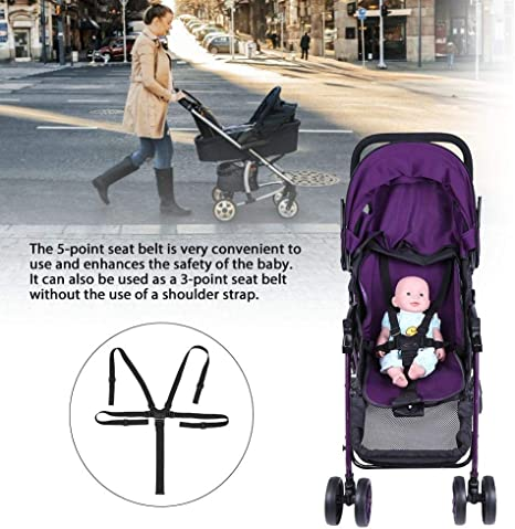 para cochecito universal Cintur/ón de arn/és de beb/é de 5 puntos