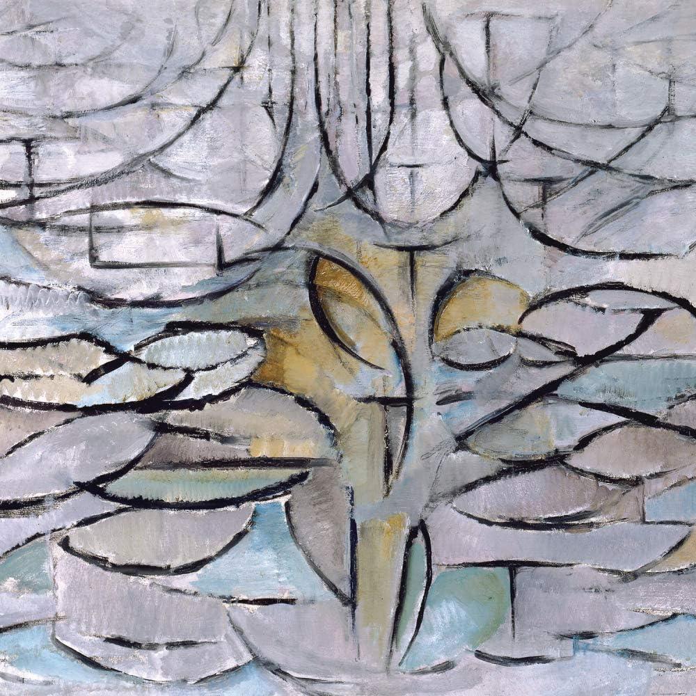 1art1 Piet Mondrian Poster Art Print - The Flowering Apple Tree, 1912 (39 x 39 inches)