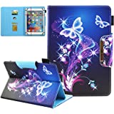 9.5-10.5 inch Tablet Universal Case, JZCreater Synthetic Leather Case Cover for iPad Air,New iPad 5th/6th Gen, Samsung Galaxy