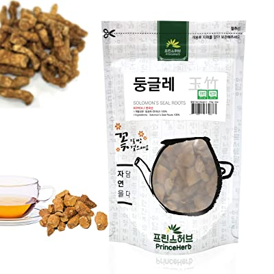 [Medicinal Korean Herb] Solomon's Seal Roots (Polygonatum biflorum/Yuzhu/둥글레) Dried Bulk Herbs 6oz (170g) : Garden & Outdoor
