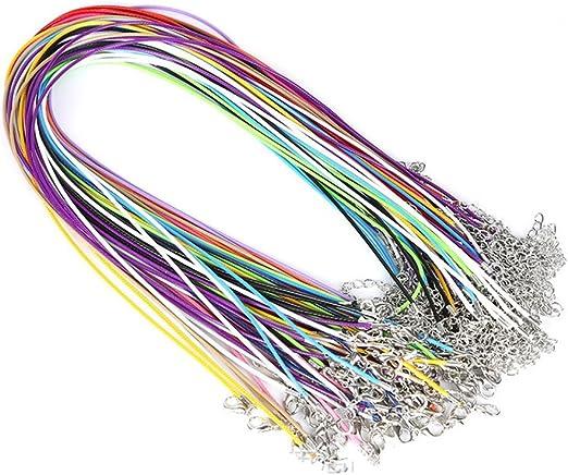 Supvox 20 Unids Hilo de algodón encerado Cuerda de confección ...
