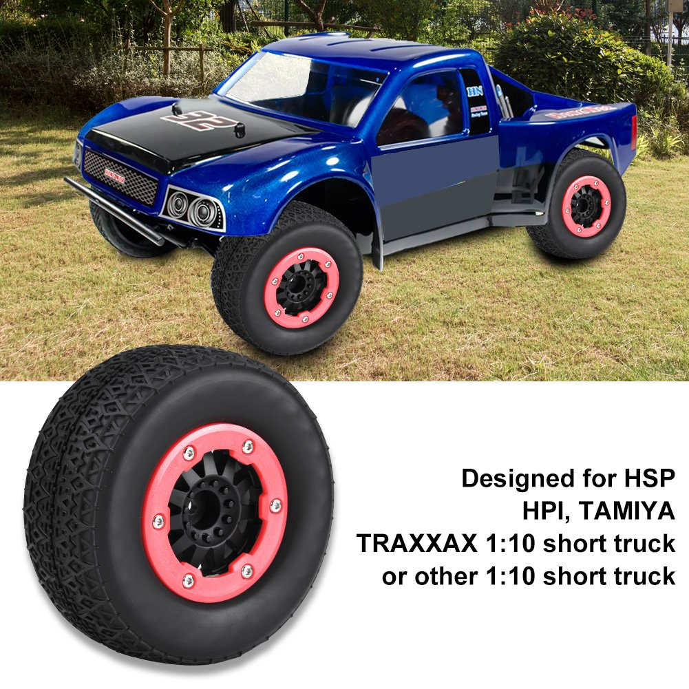 RC Wheel Tyres Inner Sponge para HSP HPI RC 1//10 On-Road Coches Meshbeat Dilwe 4Pcs Neum/áticos de Goma